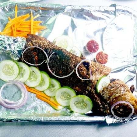 Mama Cass whole grilled fish